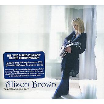 アリソン ・ ブラウン - [CD] しておく会社 USA 輸入