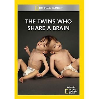 Twins die delen een hersenen [DVD] USA importeren