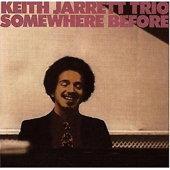 Keith Jarrett - importação E.U.A. em algum lugar antes [CD]