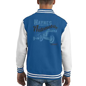 Haynes Brand Sparkford Raceway Races Kid's Varsity Jacket