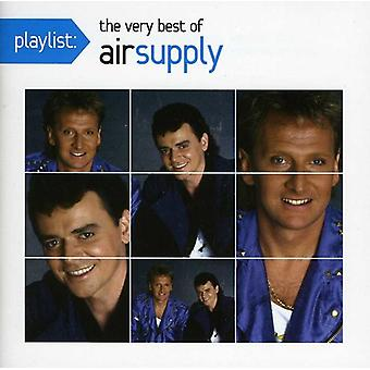 Lufttillförsel - spellista: The mycket bästa av Air Supply [CD] USA import