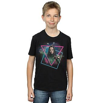 Marvel Boys Guardians Of The Galaxy Neon Mantis T-Shirt