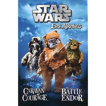 Ewok の冒険映画のポスター (11 x 17)