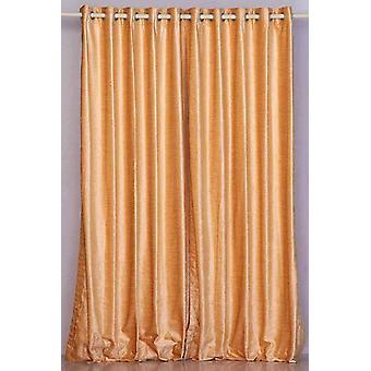 Anillo de melocotón / ojal superior cortina de terciopelo / cortina / Panel - pieza