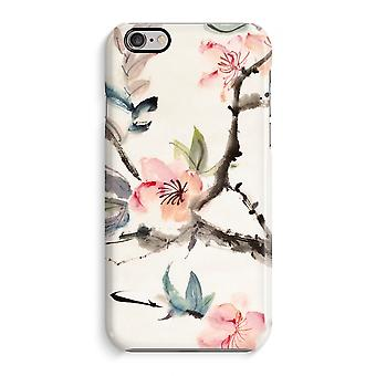 Caso do iPhone 6 6s caso 3D (lustroso)-flores de japenese