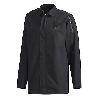 2018-2019 Japan Adidas ZNE geweven volkslied jas (zwart)