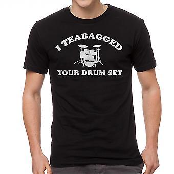 Step Brothers Cooper Teabag Men's Black T-shirt