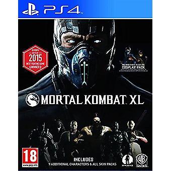 Mortal Kombat XL (PS4) - New