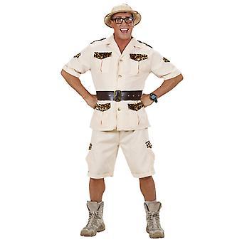 Safari mies (paita shortsit vyö)