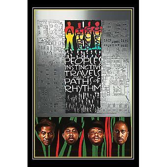 Una tribu llamada a Quest pueblos recorridos instintivos y las rutas de ritmo Poster Print