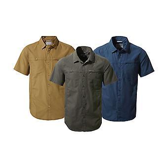 Craghoppers Herren Kiwi Trek Kurzarm Shirt Känguru 2XL