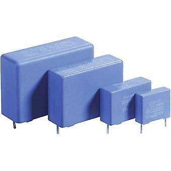 Thomsen 1 pc(s) MKP thin film capacitor Radial lead 0.1 µF 275 V AC 20 % 15 mm (L x W x H) 17.5 x 6 x 12 mm