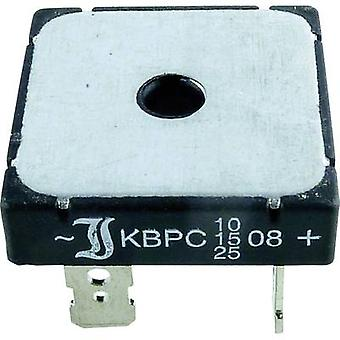 15-Diotec KBPC10-2504FP Diode bro KBPC 400 V 25 A 1-faset