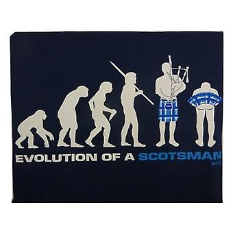 Union Jack Wear Evolution Of A Scotsman T Shirt