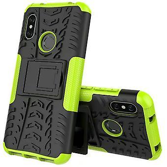 Hybrid for Xiaomi MI MAX 3 case 2 piece SWL outdoor green bag case cover protection