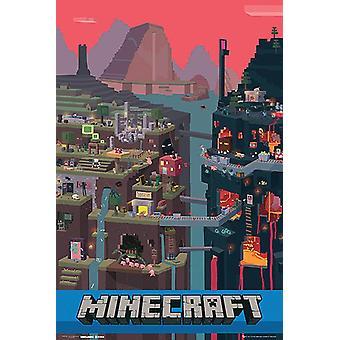 Minecraft Poster World