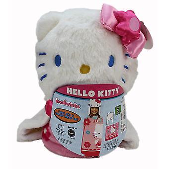 Γεια σας Kitty fleece τυλίξτε & καπέλο