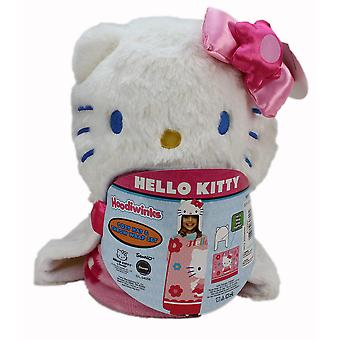 Hello Kitty Fleece Wrap & Hat