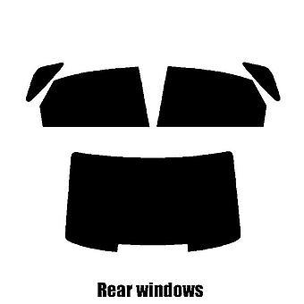 Pre cut fönstret nyans - Audi A8 4-dörrars sedan - 2004 till 2009 - bakre windows
