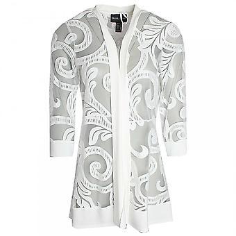 Frank Lyman Long Lace Detail Jacket