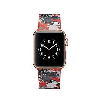 Siliconen horlogebandje voor Apple Watch 4 40mm, 3/2/1 38mm-cartoon patroon