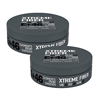 2-pack E 46 Xtreme Fibre 100ML
