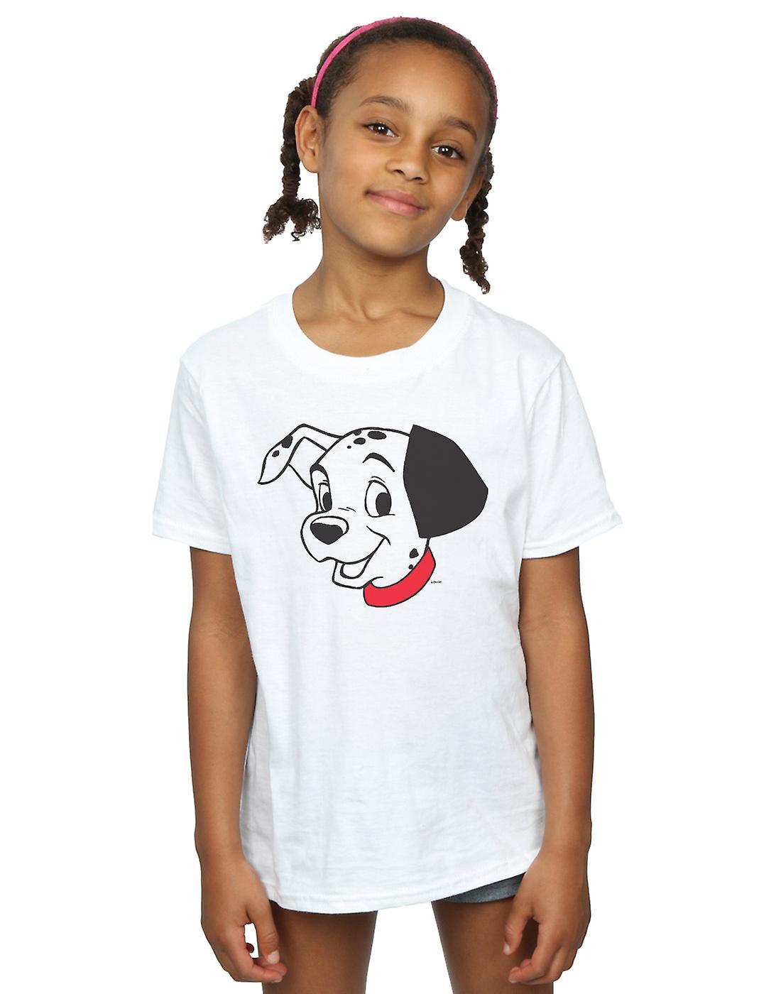 Disney Girls 101 Dalmatians Dalmatian Head T-Shirt
