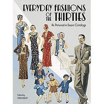 Codziennego mody 30 (Dover książek na kostium & tekstylia)
