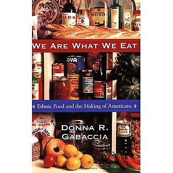 Vi är vad vi äter: etnisk mat och att göra av amerikanerna