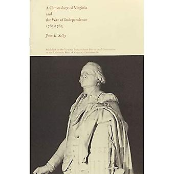 Chronology of Virginia and the War of Independence, 1763-83