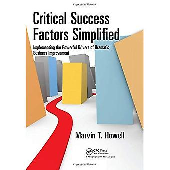 Critical Success Factors Simplified
