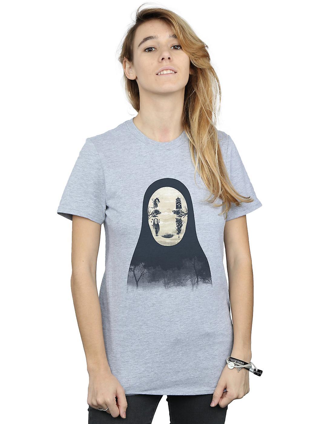 Dan Dingeroz Women's Kaonashi No-Face Boyfriend Fit T-Shirt
