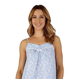 Slenderella ND3210 Women's Cotton Woven Night Gown Loungewear Nightdress