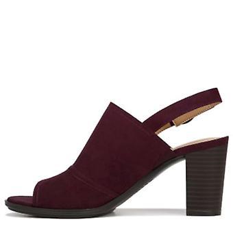 Naturalizer Womens logica stof Peep Toe formele Slingback sandalen