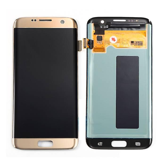 Stuff Certified ® Samsung Galaxy S7 Edge Display (AMOLED + Touch Screen + Parts) A + Quality - Black / White / Gold