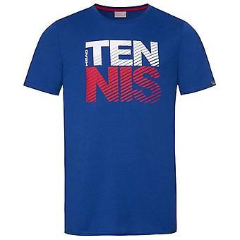 811429 dos homens de cabeça clube Chris T-Shirt