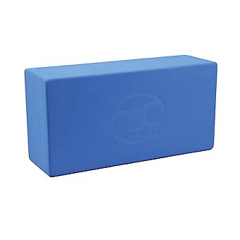 Fitness Mad Hi-Density Yoga Brick - Blue