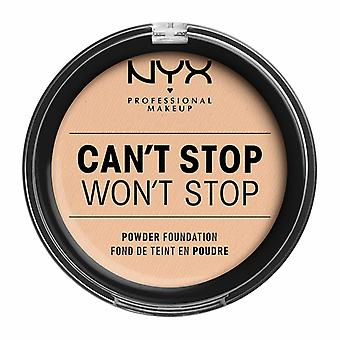 NYX PROF. MAKEUP Can&t Stop Won't Stop Powder Foundation - Wanilia