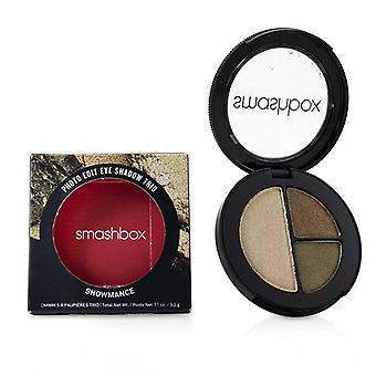 Smashbox Photo Edit Eye Shadow Trio - # Showmance (hundo Borrowed Bling Hold My Gold) - 3.2g/0.11oz