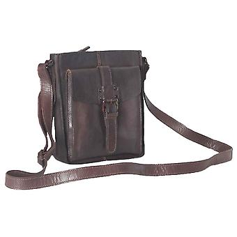 Ashwood Leather Shoreditch Vintage Dipped Leather Travel Bag - Brown