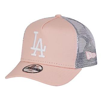New Era 9Forty Mädchen Trucker Cap - LA Dodgers pink