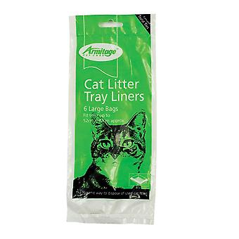 Armitage Cat Litter Tray Plastic Bag Liners