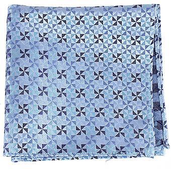 David Van Hagen vindmølle Design silke tørklæde - blå