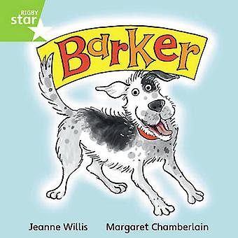 Rigby Star Independent Green Reader 2 Barker by Jeanne Willis - 97804