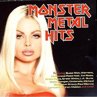 Monster Metal Hits - Monster Metal Hits [CD] USA import
