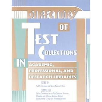 Directory Test Collections in Academic Prof & L - 9780838981672 B