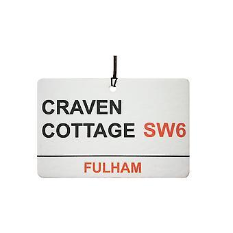 Fulham / Craven Cottage Street Zarejestruj samochodowa zawieszka zapachowa