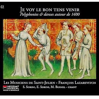Les Musiciens De Saint-Julien - Je Voy Le Bon Tens Venir [CD] USA import