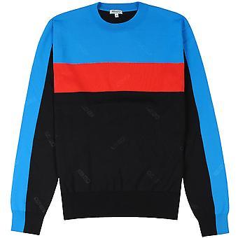 Kenzo Colourblock jumper zwart