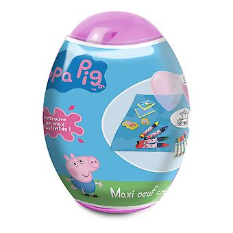 Peppa pig Maxi Creative Egg with Creative Accessories Set (CPEP119)